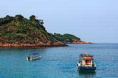 Vista di giorno dell'isola di Redang fotografie stock libere da diritti