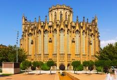 Vista di giorno della cattedrale di Mary Immaculate Immagine Stock Libera da Diritti