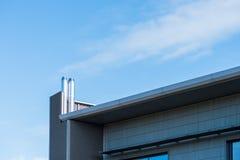 Vista di giorno soleggiato dell'edificio per uffici corporativo di affari moderni a Northampton Inghilterra Regno Unito fotografia stock libera da diritti