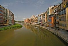 Vista di Girona Fotografie Stock