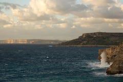 Vista di Gozo Fotografia Stock Libera da Diritti