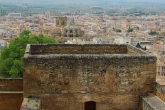 Vista di Granada Fotografia Stock