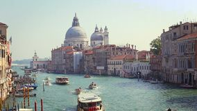Vista di Grand Canal a Venezia archivi video