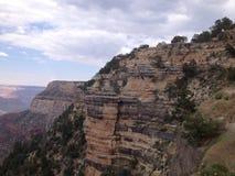 Vista di Grand Canyon da Angel Trail intelligente fotografie stock