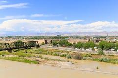 Vista di Grand Junction immagini stock