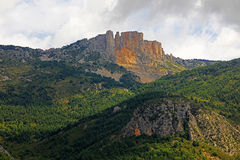 Vista di grande canyon Immagini Stock