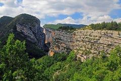 Vista di grande canyon Fotografie Stock