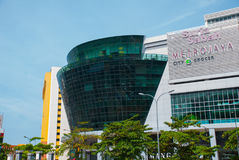Vista di grande negozio Kota Kinabalu, Sabah, Malesia Immagine Stock