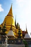 Vista di grande palazzo o di Wat Phra Kaew Immagini Stock