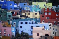 Vista di Guanajuato, Messico Immagini Stock