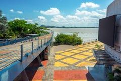 Vista di Guayaquil Fotografia Stock