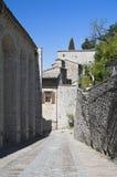 Vista di Gubbio. L'Umbria. Fotografie Stock Libere da Diritti