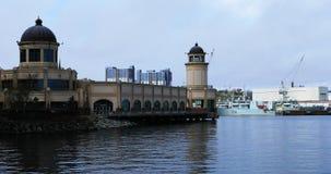 Vista di Halifax, litorale 4K di Nova Scotia video d archivio