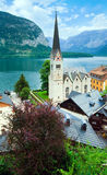 Vista di Hallstatt (Austria) Immagini Stock Libere da Diritti