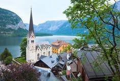 Vista di Hallstatt (Austria) Immagini Stock