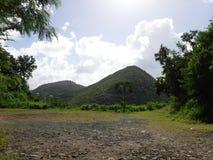 Vista di Hillside Fotografia Stock