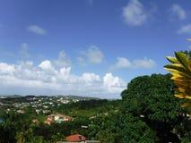 Vista di Hillside Fotografie Stock Libere da Diritti