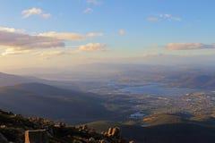 Vista di Hobart, Tasmania, Australia Immagine Stock