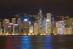 Vista di Hong Kong Immagine Stock Libera da Diritti