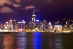 Vista di Hong Kong Fotografia Stock
