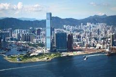 Vista di Hong Kong Fotografie Stock Libere da Diritti