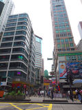 Vista di Hong Kong Fotografia Stock Libera da Diritti
