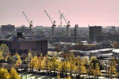 Vista di immagine di HDR da Fujimi Kawasaki Fotografia Stock