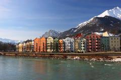 Vista di Innsbruck Fotografia Stock Libera da Diritti