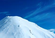 Vista di inverno delle alpi di Silvretta (Austria) Immagini Stock