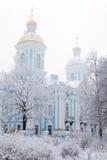 Vista di inverno di Nicolsky Sobor Immagini Stock