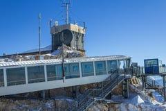 Vista di inverno nelle alpi Immagini Stock Libere da Diritti
