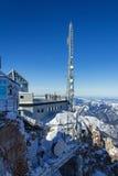 Vista di inverno nelle alpi Fotografia Stock Libera da Diritti
