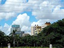 Vista di Kariako a Dar es Salaam Immagini Stock