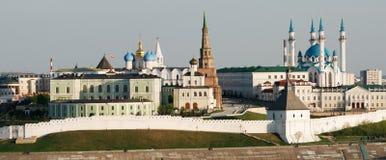 Vista di Kazan Kremlin fotografia stock libera da diritti