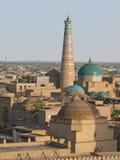 Vista di Khiva, l'Uzbekistan Immagini Stock