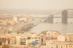 Vista di Kiev Immagine Stock