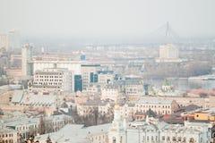 Vista di Kiev Fotografie Stock