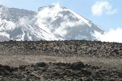 Vista di Kilimanjaro Fotografie Stock Libere da Diritti