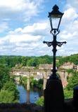 Vista di Knaresborough Fotografia Stock Libera da Diritti