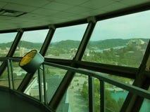 Vista di Knoxville, Tennessee dalla torre di osservazione Fotografie Stock