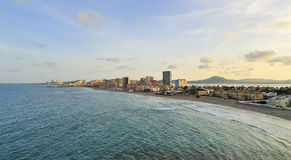 Vista di La Manga Del Mar Menor Fotografie Stock