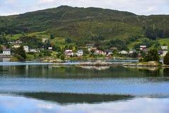 Vista di Lakeside Fotografia Stock