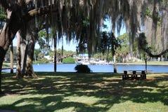 Vista di Lakeside Fotografie Stock