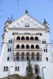 Vista di Landsqape dal castello del Neuschwanstein fotografia stock