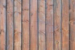 Vista di legno dei pannelli Immagini Stock