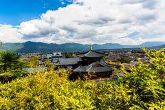 Vista di Lijiang Fotografia Stock Libera da Diritti