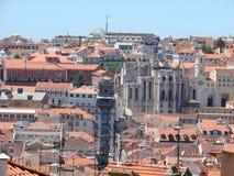 Vista di Lisbona Fotografie Stock Libere da Diritti