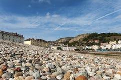 Vista di LLandudno dalla spiaggia Immagini Stock Libere da Diritti
