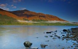 Vista di Lochy del lago Immagine Stock