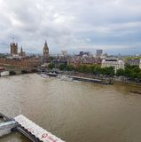 Vista di Londra Arial fotografia stock